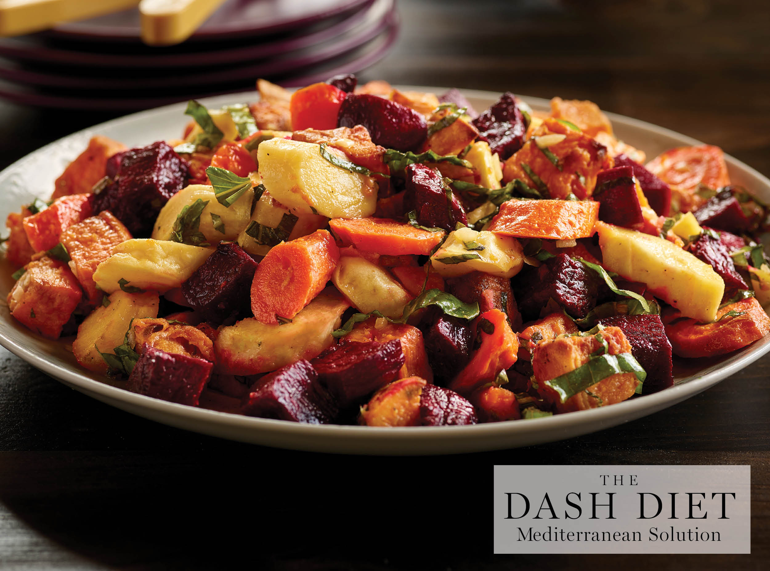 ROASTED VEGETABLE SALAD | Grand Central Life & Style